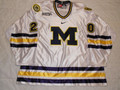 Michigan Wolverines 2008-09 White Eric Elmblad Great Style!!