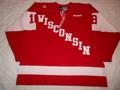 Wisconsin Badgers 2008-09 Red Jordy Murray Nice Wear!!