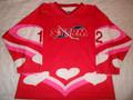 Toledo Storm 2004-05 Valentine Tribute Noah Whyte Great Style!!