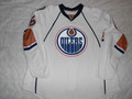 Edmonton Oilers 2008-09 White Ladislav Smid Repair 30 Year Patch!!