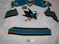 *San Jose Sharks 2011-13 White J.P. Anderson Rookie Tournament Nice Wear!!