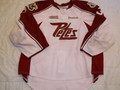 *Peterborough Petes 2011-12 White Mike Morrison Nice Wear Photomatched!!