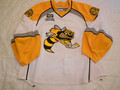 Sarnia Sting 2013-14 White Taylor Dupuis Great Wear Repairs Photomatched!!