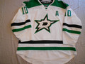 "Dallas Stars 2013-14 White Shawn Horcoff w/ ""A"" Nice Wear Repairs Photomatched!!"