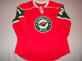 Minnesota Wild 2009-10 Red Chuck Kobasew Great Style!!