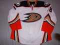 Anaheim Ducks 2015-16 White Tim Jackman Double Tie Down!!