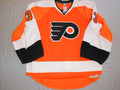 Philadelphia Flyers 2010-11 Orange Brian Boucher Nice Wear Photomatched!!