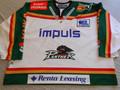 Augsburg Panthers 1997-98 White Leonardo Conti Nice Goalie Style!!