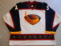 Atlanta Thrashers 2005-06 White Andy Sutton Nice Wear Photomatched!!