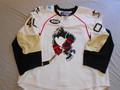 Wilkes-Barre Penguins 2007-08 White Karl Goehring/Kyle Gajewski Nice Style!!
