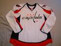 Washington Capitals 2011-12 White Dennis Wideman Nice Wear Photomatched!!