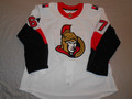 Ottawa Senators 2018-19 White Ben Harpur Nice Style Photomatched!!
