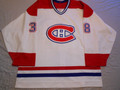Montreal Canadiens 2005-06 White Jan Bulis Nice Wear Photomatched!!