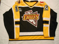 Johnstown Chiefs ECHL 1999-00 Black E.J. Bradley Heavy Knit Style!