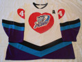 Muskegon Fury 1992-93 Bob Berg White Valentines Great Style!!