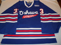 Oshawa Generals 2003-04 Blue Sean Atkinson Nice Wear!!
