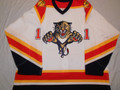 Florida Panthers 2005-06 White Jon Sim Nice Wear!!