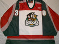 Bakersfield Condors 2004-05 White Sean Fields Pre-Season BU!!