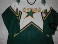Dallas Stars 2005-06 White Stu Barnes Tough Guy Repairs!!