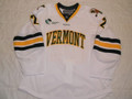Vermont Catamounts 2012-13 White Ryan Rosenthal Great Style!!
