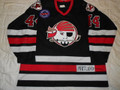 Portland Pirates 1995-96 Black Sergei Tertyshny 60th Patch Nice Wear!!