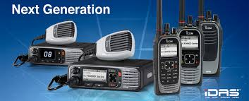 Icom IDA Digital Two Way Radios