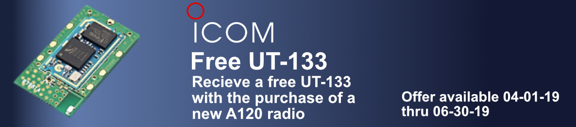 UT-133 promotion for ordering new A120