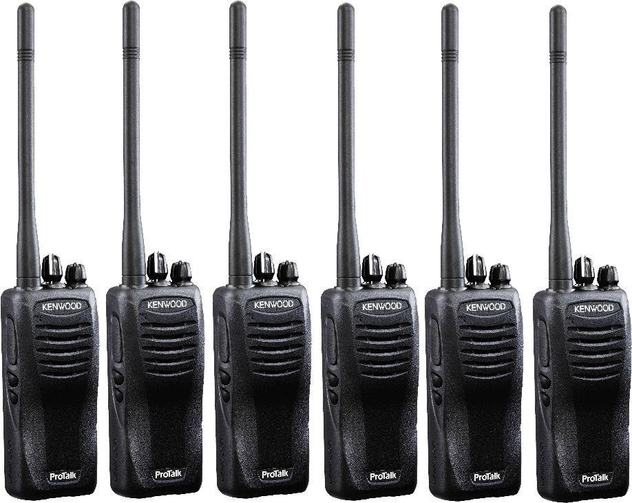 b43ec5886eea Kenwood TK3402U16P UHF Two Way Radio Six Pack - HiTech Wireless Store -  Business Two Way Radio