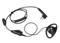 Motorola HKLN4599 D Ring Earpiece Microphone