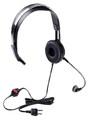 Ritron RHD-1X Over the Head Single Ear Headset with In Line PTT