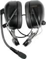 Pryme HBB-EM-HMB Helmet Mount Dual Earmuff Headset