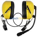 Pryme HBB-EM-HMY Helmet Mount Dual Earmuff Headset