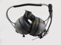 Pryme HDS-EMB Black Dual Muff Headset