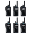Kenwood NX-P500 UHF Two Way Radio Six Pack