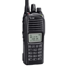 ICOM F3261DT 35 RR VHF radio with Railroad firmware installed