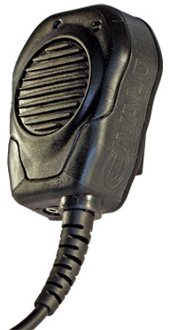 klein valor poc shoulder microphone for wave and twisted pair