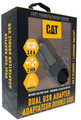 CAT-DC2USB-BLK DUAL USB DC Vehicle Adapter retail packaging