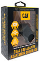 CAT-AC2USB-BLK Dual USB AC Wall Adapter retail package