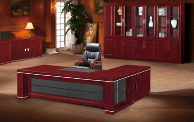 Pacific Executive Veneer Desk