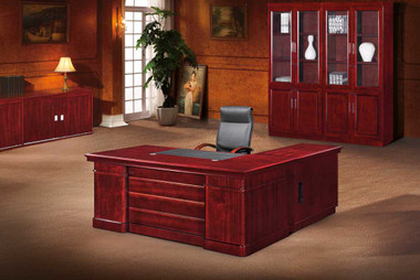 Atlantic Executive Veneer Desk