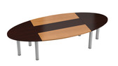 Boardroom Table With  Oval Top