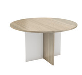 Boardroom Table With Cross Base