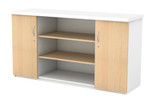 Server Base Unit with Open Adjustable Shelf