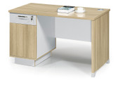 SH01D Home office desk with drawer and cupboard