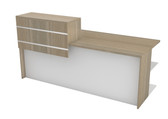 Ceta Reception Unit 1800mm x 700mm