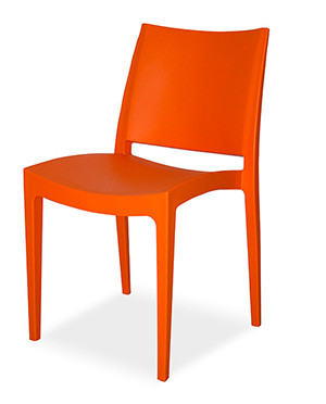 Libby Heavy Duty Chair  Orange,Anthracite,Black,Lime,Red & White