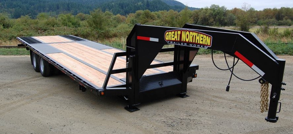 Great Northern Powered Dove Gooseneck Trailer