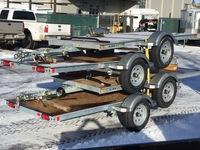 Karavan One Place Snowmobile Trailers