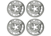 "Promaxx (Set Of 4) 97-01 CRV 15"" 8 Triangle Openings Quick Fit Wheel Skin #IWCIMP/11"