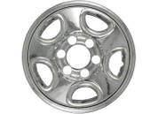 "Promaxx (Set Of 4) 02-05 Explorer 16"" 5 Rounded Triangles Quick Fit Wheel Skin #IWCIMP/312X"